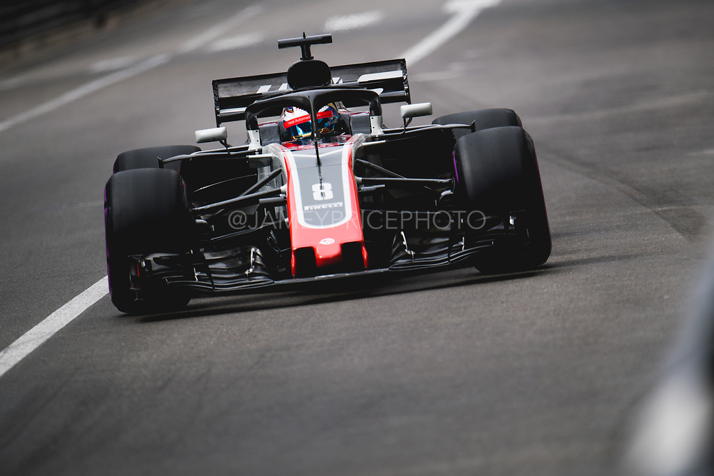 May 23-27, 2018: Monaco Grand Prix. Romain Grosjean (FRA), Haas F1 Team, VF-18