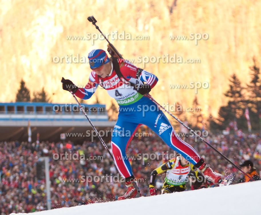 16.01.2011, Chiemgau Arena, Ruhpolding, GER, IBU Biathlon Worldcup, Ruhpolding, Pursuit Women, im Bild Olga Zaitseva (RUS) // Olga Zaitseva (RUS) during IBU Biathlon World Cup in Ruhpolding, Germany, EXPA Pictures © 2011, PhotoCredit: EXPA/ J. Feichter