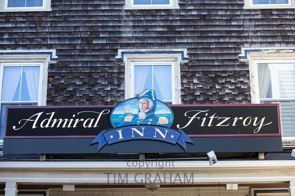 Admiral Fitzroy Inn in Newport, Rhode Island, USA
