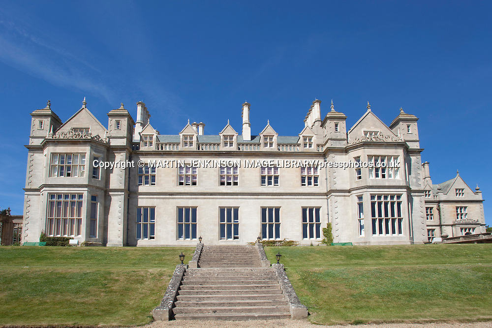 Stoke Rochford Hall.