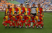 TEAM GROUP.GALATASARAY 2003/2004.THE SONY AMSTERDAM TOURNAMENT.GALATASARAY V INTERNAZIONALE 01/08/03.