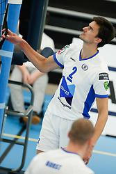 20181103 NED: Eredivisie, Sliedrecht Sport - Abiant Lycurgus: Sliedrecht<br />Wytze Kooistra (2) of Abiant Lycurgus<br />©2018-FotoHoogendoorn.nl / Pim Waslander