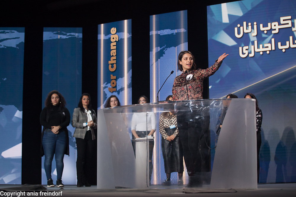 Paris conference on International Women's Day, the key speaker was Maryam Rajavi, the President-elect of the National Council of Resistance of Iran (NCRI)
