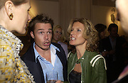 Graham le Saux and his wife Marian. A photo exhibition in support of Facing the World <br />