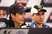 April 19-21, 2013- Marc Marquez (SPA), Repsol Honda Team, Jorge Lorenzo (SPA), Yamaha Factory Racing