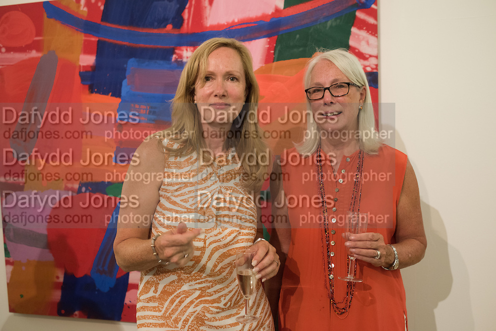 CELIA IRVIN; PRISCILLA IRVIN, Albert Irvin: Painting the Human Spirit - private view<br /> Exhibition dedicated to the memory of Albert Irvin who passed away in March 2015. Private view held on anniversary of Irvin's birthday .Gimpel Fils Gallery, 30 Davies Street, London, 21 August 2015.
