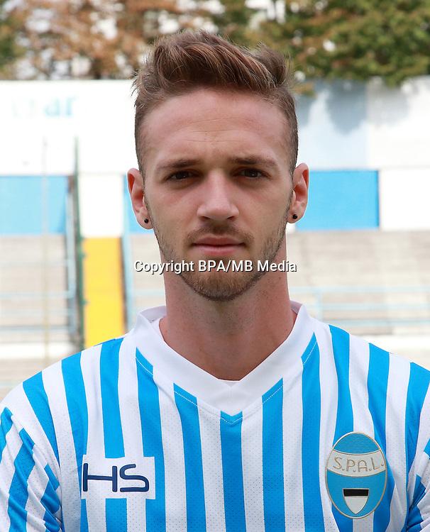 Italian League Serie B -2016-2017 / <br /> ( S.P.A.L 2013 ) - <br /> Manuel Lazzari
