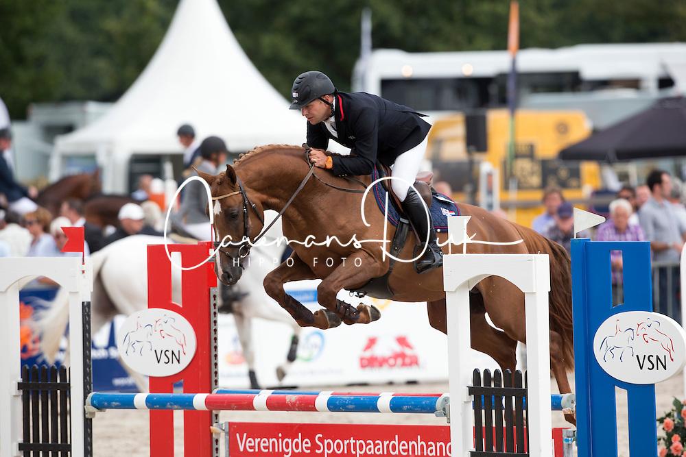 Parmler Niclas - VDL Groep Spirtivo<br /> KWPN Paardendagen - Ermelo 2012<br /> © Dirk Caremans