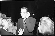 Michael Crichton, 'The Lost World' American Museum of Natural History, New York, 21st September 1995© Copyright Photograph by Dafydd Jones 66 Stockwell Park Rd. London SW9 0DA Tel 020 7733 0108 www.dafjones.com