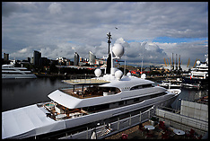 Super Yachts for the Olympics 20-7-12