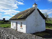 Irish Thatched Cottage, Kinvarra. Galway  c.1800,