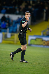 Ref Craig Napier. Morton 1 v 1 Brora Rangers, 3rd Round of the Scottish Cup played 23/11/2019 at Cappielow, Greenock.