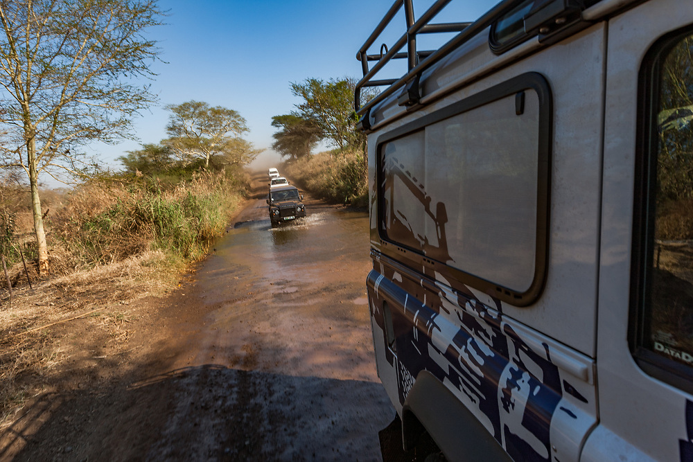 At the end of Kingsley Holgate's Izintaba Zobombo expedition