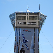Red Bull Air Race Detroit Control Tower<br /> The 1st Annual Red Bull Air Race, in Detroit, MI., kicks off on May 31, 2008. Shot of the Air Traffic Control tower on Detroit's River Front.
