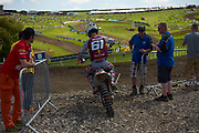 Jorge Prado joins the timed practice session.