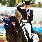 Marisa Festerling and Big Tyme at the 2011 Pan American Games in Guadalajara, Mexico.