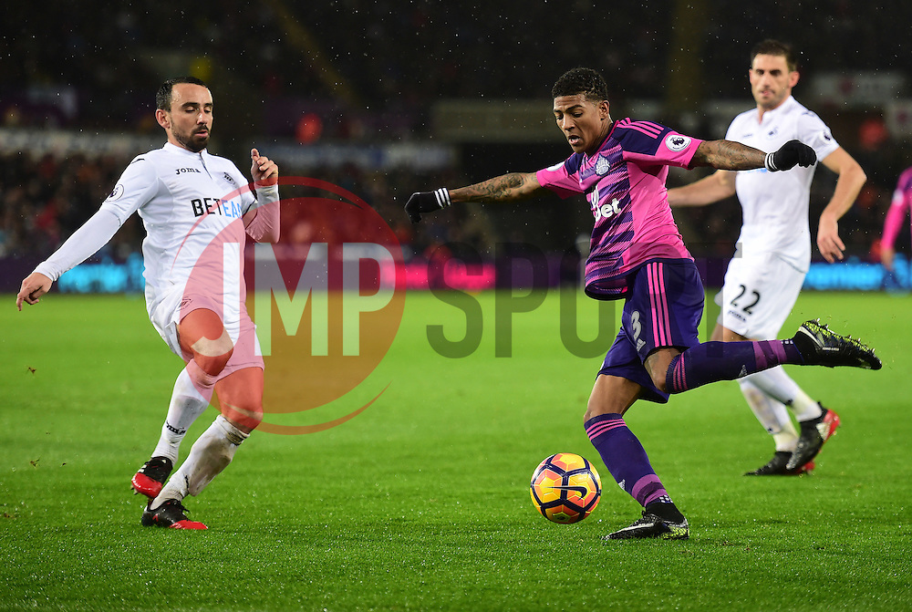 Patrick van Aanholt of Sunderland - Mandatory by-line: Alex James/JMP - 10/12/2016 - FOOTBALL - Liberty Stadium - Swansea, England - Swansea City v Sunderland - Premier League