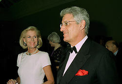 PRINCESS ELISABETH VON SACHSEN WEIMAR and DR GERT-RUDOLF FLICK at a dinner in London on 1st July 1997.LZW 68