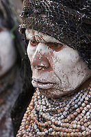 Villager in Mount Hagen, Western Highlands Province, Papua New Guinea.