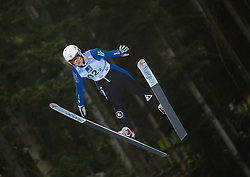 JONES Paige (USA) during First round on Day 1 of FIS Ski Jumping World Cup Ladies Ljubno 2020, on February 22th, 2020 in Ljubno ob Savinji, Ljubno ob Savinji, Slovenia. Photo by Matic Ritonja / Sportida