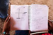 Mónica Gonzáles inició un trabajo de recuperación de la lengua cucapah. Según la UNESCO, queda apenas una decena de hablantes. El Mayor. Indiviso, Baja California. 13 de agosto de 2014.. (Photo: Prometeo Lucero)