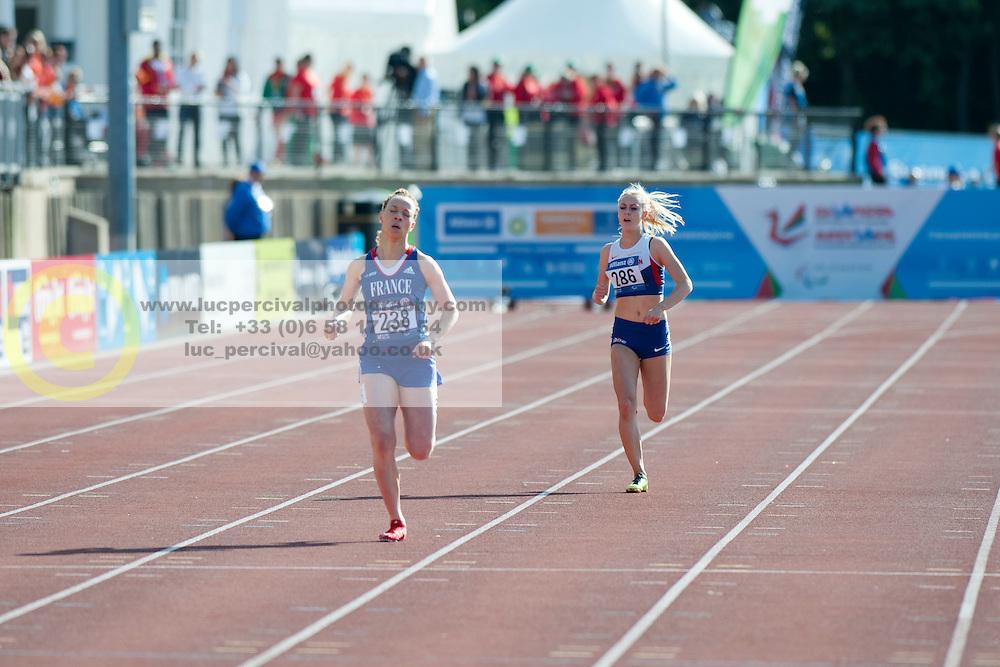 KEITA Nantenin, MCBRIDE Erin, 2014 IPC European Athletics Championships, Swansea, Wales, United Kingdom