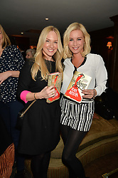 Left to right, ROSIE NIXON and DENISE VAN OUTEN at a party to celebrate the publication of The Stylist by Rosie Nixon held at Soho House, London on 10th February 2016.