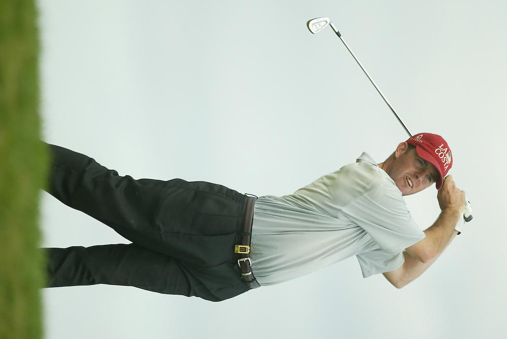 Robert Garrigus..2003 PGA Tour Qualifying, Final Stage.Third Round.Orange County National GC.Orlando, FL.Friday, December 5, 2003..Photograph by Darren Carroll