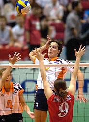 19-06-2000 JAP: OKT Volleybal 2000, Tokyo<br /> Nederland - Japan 1-3 / Francien Huurman