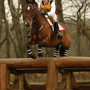 Kerri Long (USA) and Juliet at the Morven Park Spring Horse Trials held in Leesburg, Virginia
