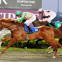 Dunhoy and Dane O'Neill winning the 5.35 race