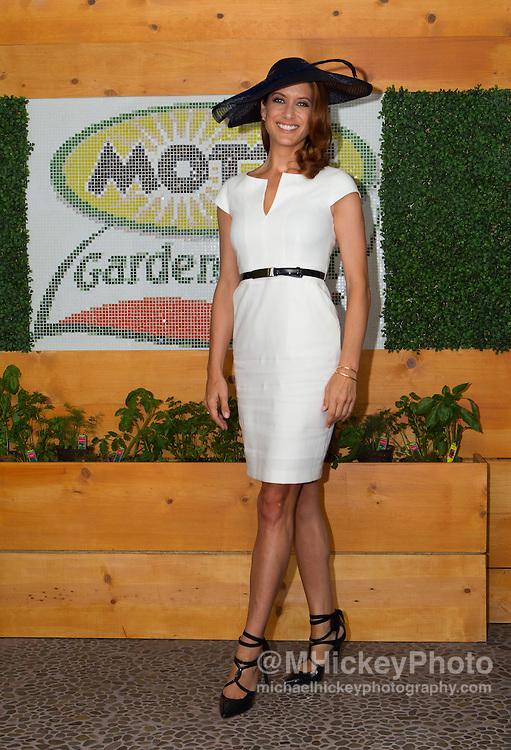 Kate Walsh attends the Kentucky Derby in Louisville, Kentucky on May 7, 2011.