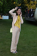 PLUM SYKES, 2014 Serpentine's summer party sponsored by Brioni.with a pavilion designed this year by Chilean architect Smiljan Radic  Kensington Gdns. London. 1July 2014
