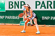 Alize Cornet (fra) during the Roland Garros French Tennis Open 2018, day 4, on May 30, 2018, at the Roland Garros Stadium in Paris, France - Photo Pierre Charlier / ProSportsImages / DPPI