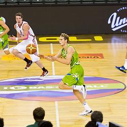 20130818: SLO, Basketball - EuroBasket 2013 warm-up match, Slovenia vs Russia