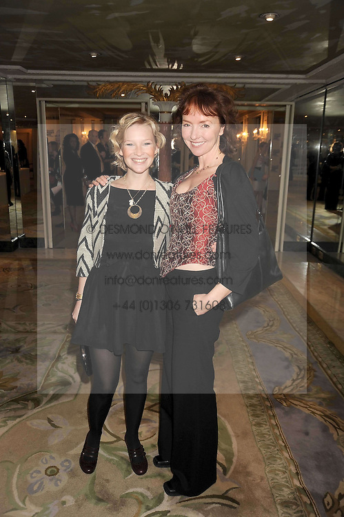 Left to right, JOANNA PAGE and Melanie Walters at the 2009 South Bank Show Awards held at The Dorchester, Park Lane, London on 20th January 2009.