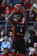 November 24, 2017 - Anvers, Belgique - ANTWERPEN, BELGIUM - NOVEMBER 24 : Retin OBASOHAN  of Belgium during the First Round E FIBA World Cup China 2019 Qualifiers match between Belgium and France on November 24, 2017 in Antwerpen, Belgium, 24/11/2017 (Credit Image: © Panoramic via ZUMA Press)