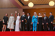 14.MAY.2014. CANNES<br /> <br /> CODE - CP<br /> <br /> OFFICIAL SELECTION JURY MEMBERS CAROLE BOUQUET, NICOLAS WINDING REFN, LEILA HATAMI, SOFIA COPPOLA, JANE CAMPION, GAEL GARCIA BERNAL, ZHANGKE JIA, DO-YEON JEON AND WILLEM DAFOE ATTEND THE OPENING CEREMONY AND THE 'GRACE OF MONACO' PREMIERE DURING THE 67TH ANNUAL CANNES FILM FESTIVAL<br /> <br /> BYLINE: EDBIMAGEARCHIVE.CO.UK<br /> <br /> *THIS IMAGE IS STRICTLY FOR UK NEWSPAPERS AND MAGAZINES ONLY*<br /> *FOR WORLD WIDE SALES AND WEB USE PLEASE CONTACT EDBIMAGEARCHIVE - 0208 954 5968*