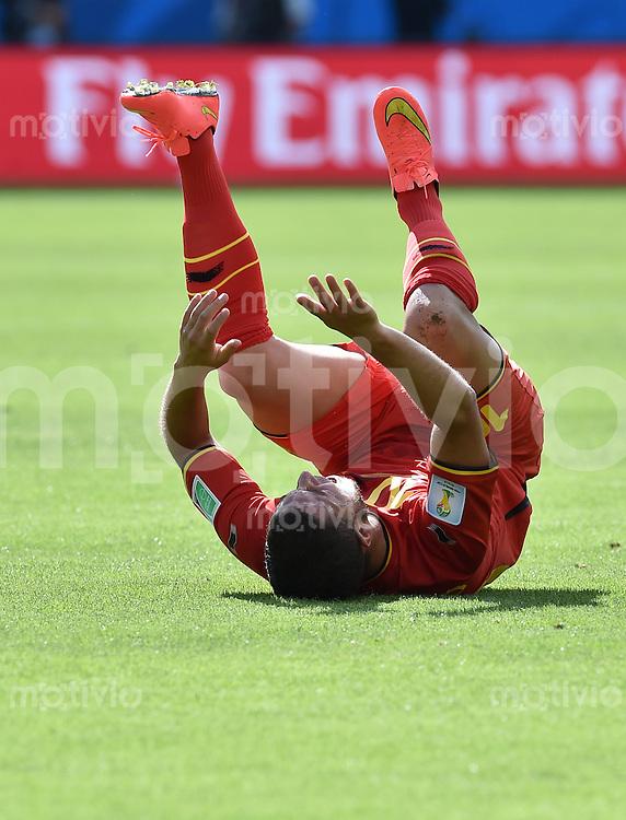 FUSSBALL WM 2014  VORRUNDE    Gruppe H     Belgien - Algerien                       17.06.2014 Eden Hazard (Belgien) enttaeuscht