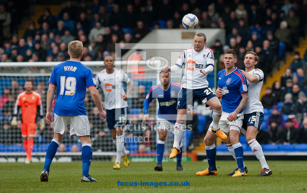 Picture by Will Oliver/Focus Images Ltd 075966707272.16/03/2013.Jay Spearing of Bolton Wanderers playing against Ipswich Town at the npower Championship match at Portman Road, Ipswich.