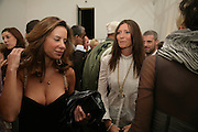 Ana Paula and Valerie Micchetti , Michael Roberts - book launch party hosted by Vanity Fair to celebrate  publication, Shot In Sicily. Hamiltons Gallery, 13 Carlos Place, London,17 September 2007. -DO NOT ARCHIVE-© Copyright Photograph by Dafydd Jones. 248 Clapham Rd. London SW9 0PZ. Tel 0207 820 0771. www.dafjones.com.
