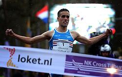 25-11-2012 ATLETIEK: NK CROSS WARANDELOOP: TILBURG<br /> Khalid Choukoud wint het NK maar wordt tweede op de warandeloop<br /> ©2012-FotoHoogendoorn.nl