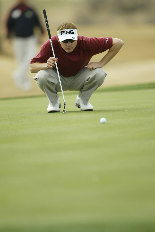 Heath Slocum..2004 Chrysler Classic of Tucson.Omni Tucson National Resort.Tucson, AZ.Fourth Round.Sunday, February 29, 2004..Photograph by Darren Carroll