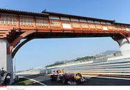 Grand Prix de Corée de Formule un..YEONGAM 22/10/10 ..1er séance d'essai...Photo Stéphane Mantey/L 'Equipe. *** Local Caption *** vettel (sebastian) - (ger) -