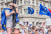 People's March for a People's Vote on the final Brexit deal.  Timed to coincide with the second anniversary of the 2016 referendum it is organised by anti Brexit, pro EU campaigners.