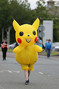 Fancy dress runner during the Simply Health half marathon Manchester Great Run in Manchester, Manchester, United Kingdom on 19 May 2019.
