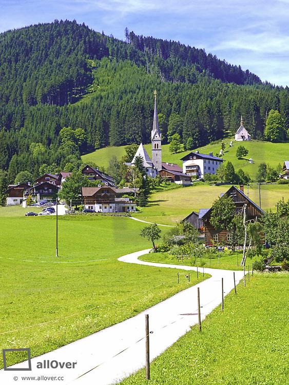 Gosau, Austria, Upper Austria, Dachstein area