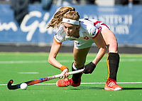AMSTELVEEN - Yibbi Jansen (Oranje-Rood)  tijdens   de hoofdklasse competitiewedstrijd dames hockey Pinoke-Oranje-Rood (0-5).   COPYRIGHT KOEN SUYK