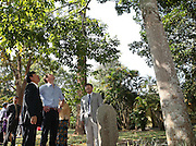 XISHUANGBANNA, CHINA - MARCH 04: (CHINA OUT) <br /> <br /> The Duke Of Cambridge Visits Yunnan's Xishuangbanna<br /> <br /> Prince William, Duke of Cambridge looks up trees during his visit Dai Autonomous Prefecture of Xishuangbanna/Sipsongpanna on March 4, 2015 in Xishuangbanna, Yunnan province of China. The Duke of Cambridge is on a four-day visit to China. He is the first senior British royal to visit China since the Queen and Prince Philip visited in 1986. <br /> ©Exclusivepix Media