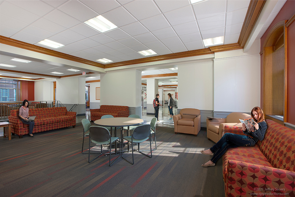 Interior Image Of Elkton Dormitory In U Of Md College Park M